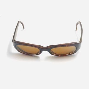 Maui Jim Brown Oval Sunglasses Frames